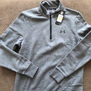 NWT! Men's Under Armour 1/4 Zip Sweatshirt